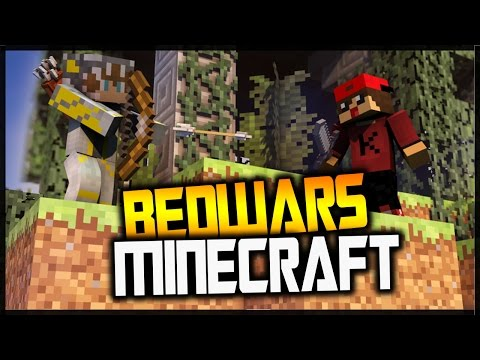 Minecraft BedWars: I BELIEVE I CAN FLY! :D [Rider&BunKill]