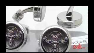 Мужские запонки Est 1968 CT-SS01(На видео представлен обзор мужских запонок CT-SS01 швейцарской марки Est 1968. Изготовлены из стали, подложка..., 2014-06-23T07:35:30.000Z)