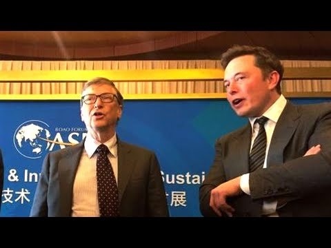 Image result for elon musk and bill gates