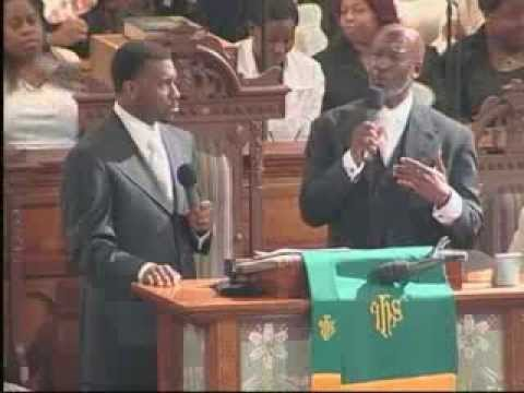 DOUBLE PORTION!  Pastor Jamal-Harrison Bryant and Bishop John Bryant preach a tag team sermon!