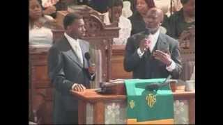 DOUBLE PORTION!  Pastor Jamal-Harrison Bryant and Bishop John Bryant preach a tag team sermon!