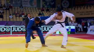 Avtar SINGH Judo India vs Ramin GURBANOV AZE  90Kg Abu Dhabi GS 2015