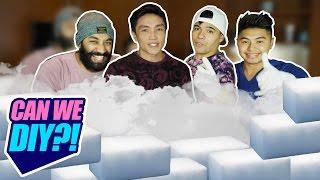 CAN WE DIY?! | DRY ICE HACKS