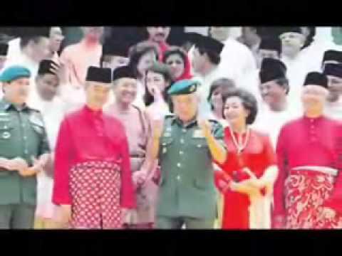 Lagu Negeri Johor - Allah Peliharakan Sultan (Iskandar)