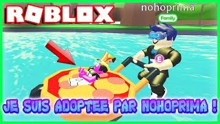 I'M ADOPTED BY NOHOPRIMA! Roblox Adopt Me