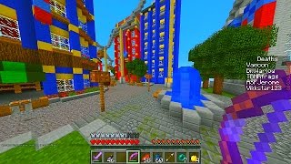 Minecraft BIOSHOCK SKY CITY PVP #1 with Vikkstar, Jerome, Preston & More!