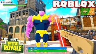 HOW TO BECOME THANOS IN FORTNITE SEASON 6! (ROBLOX FORTNITE)