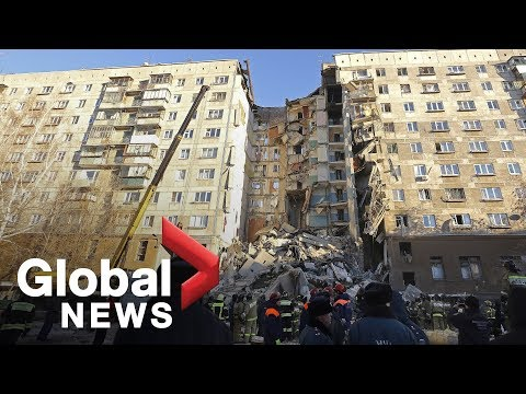 Fatal gas blast at Russian apartment leaves dozens trapped under rubble