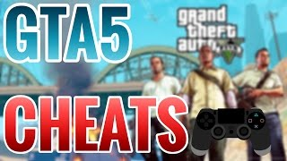 GTA 5 CHEATS! (PS4)