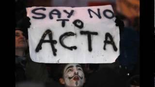 Anonymous | Bundesweiter Paperstorm gegen ACTA