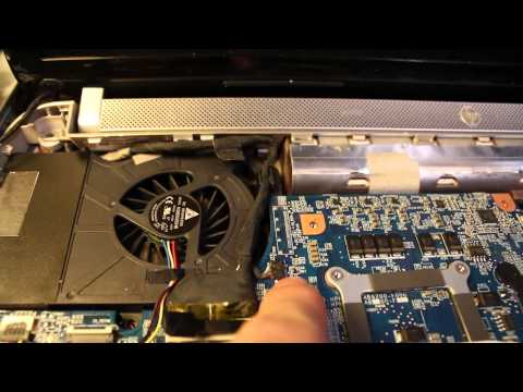 HP DV6 CPU FAN Replacement Walkthrough— Take Apart & Disassembly for Overheating Laptiop