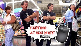 Farting on People of Walmart & Getting Kicked Out of the Store - THE POOTER