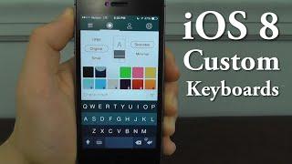iOS 8 Custom Keyboards – Top 8 Keyboards for iOS 8