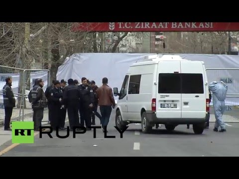 Turkey: Ankara bombsite on lockdown after suicide attack kills 37