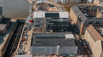 Euroopan kemikaalivirasto rakentuu Helsingin Telakkarantaan