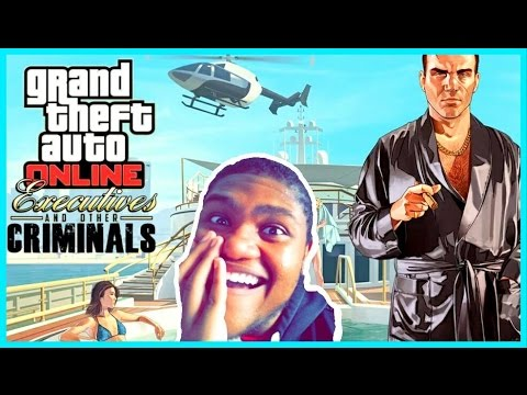 GTA Online: Executives And Other Criminals Trailer Reaction