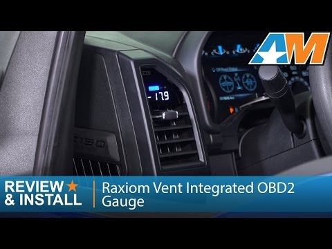 Raxiom Vent Integrated OBD2 Multi-Gauge w/o Vent Housing (15-19 F-150)