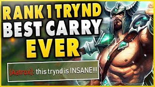 #1 TRYNDAMERE WORLD HARDEST GAME OF MY LIFE!!! (CHALLENGER 1V9) - League of Legends