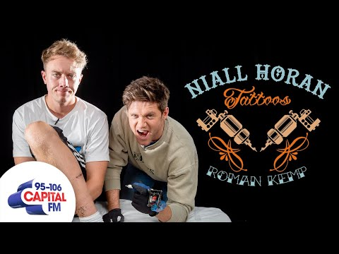 Niall Horan Tattoos 'Nice To Melt Ya' On Roman Kemp's Leg 😖 | Capital