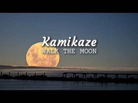 WALK THE MOON - Kamikaze (Lyric Video)