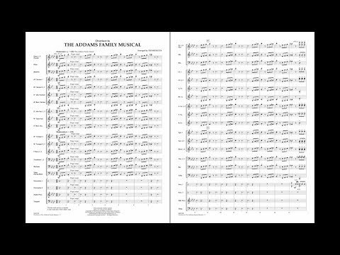Overture To The Addams Family Musical Arr. Ted Ricketts