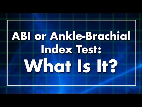 ABI or Ankle-Brachial Index Test: What Is It?