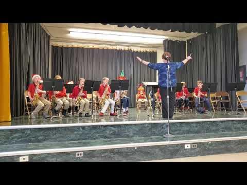 Canyon Rim Academy 4th grade band Christmas concert