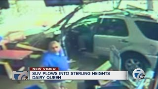 SUV plows into Sterling Heights Dairy Queen