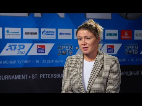 Динара Сафина ATP ST.PETERSBURG OPEN 2019