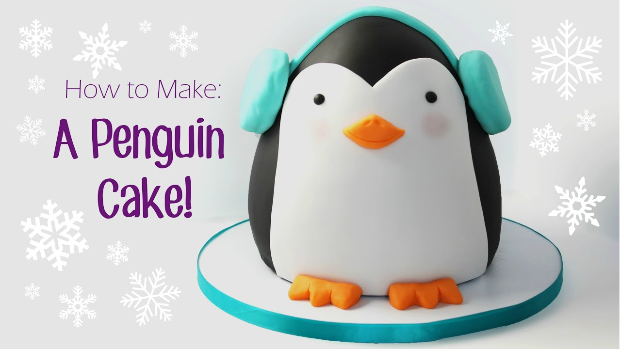 How To Make A Penguin Birthday Cake