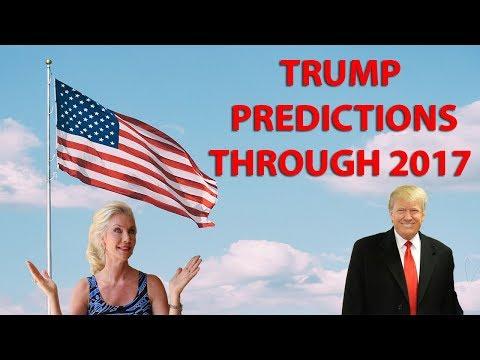 President Trump's Predictions through 2017