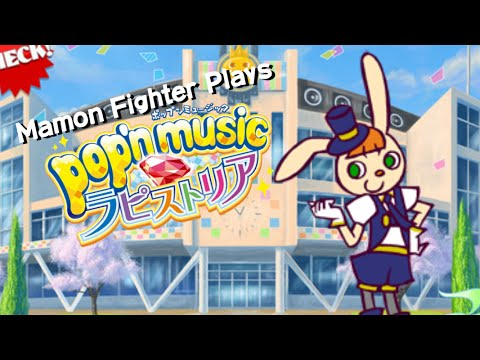 Me playing Pop'n Music Lapistoria with PS1 Pop'n Controller