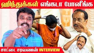 Saattai Saravanan Latest Interview | Naam Tamilar Saravanan | NTK