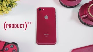 Unboxing iPhone 8 Product RED!