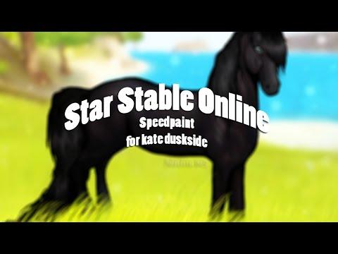 [ Star Stable Online ] - Speedpaint for Kate Duskside