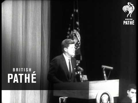 President Kennedy Gives Pledge On NATO Support (1961)