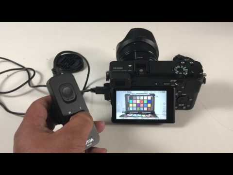 Sony A6500 USB External Remote Clear Image Zoom and Record Video