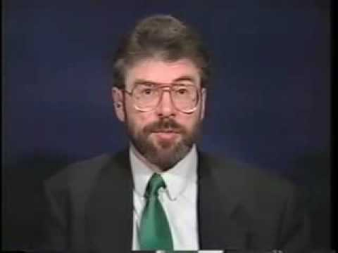 Gerry Adams on Charlie Rose (USA) - 1995 part 1