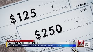 NCGOP released plan to give money back, checks not sent