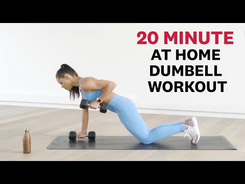 Kelsey Wells 20 Minute at Home Dumbbell Workout
