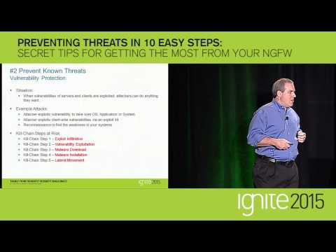 Preventing Threats in 10 Easy Steps - Ignite 2015