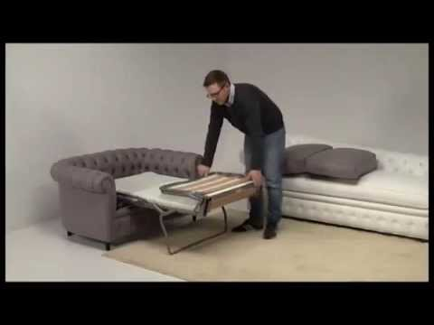 the latest a5ab3 2f430 Chesterfield Sleeper Chair by Santambrogio Sofas