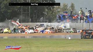 Huge Crashes at 2019 Citroën DS3 Cup-race Denmark