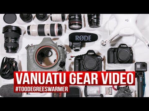 Vanuatu video gear - #climatecompassion