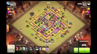 NiMMdaS - Clash of Clans - Deff RH 8 vs. RH 9 - Eric2142