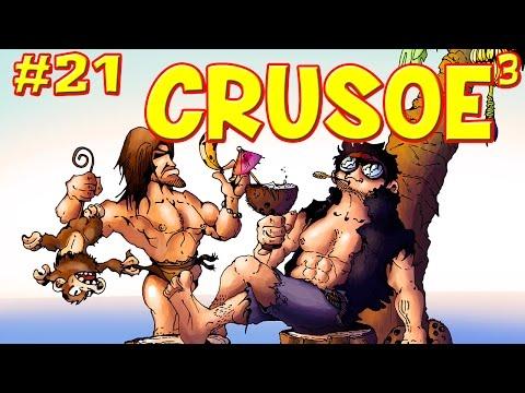 CRUSOE 3 - Ep.21 : Nos jeux pourris adorés - Fanta et Bob dans Minecraft