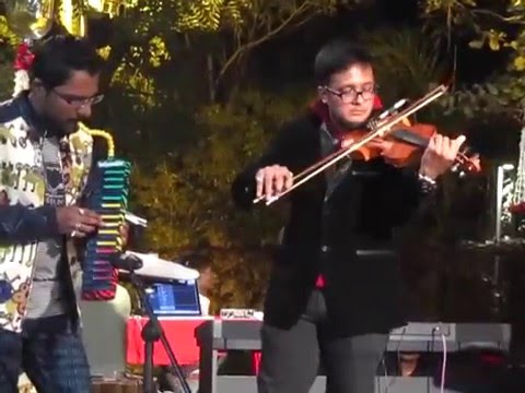 Tere liye instrumental on violin melodica by Junoon Band