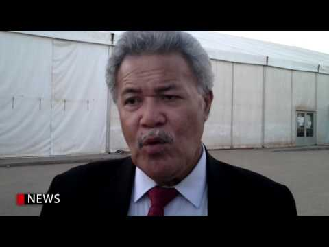 TUVALU'S PM URGE NEGOTIATORS TO KEEP THE MOMENTUM GOING