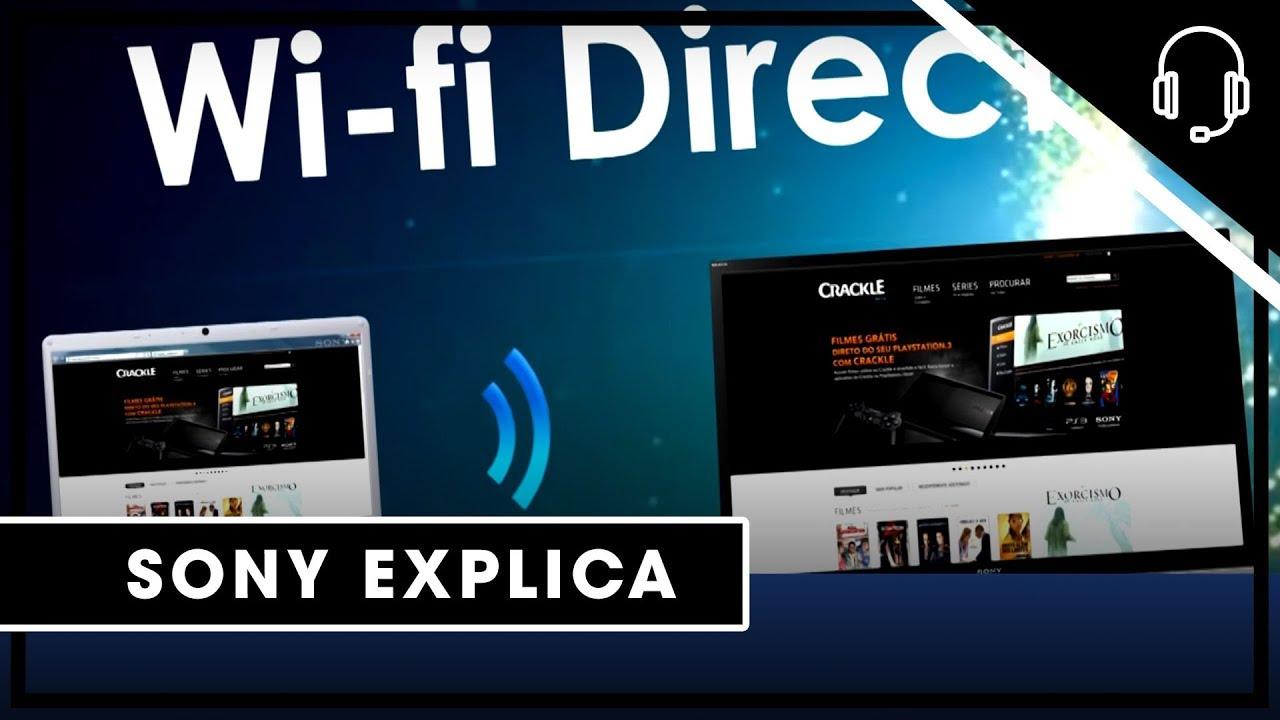 Sony | Suporte| Computador | Wi-Fi Direct