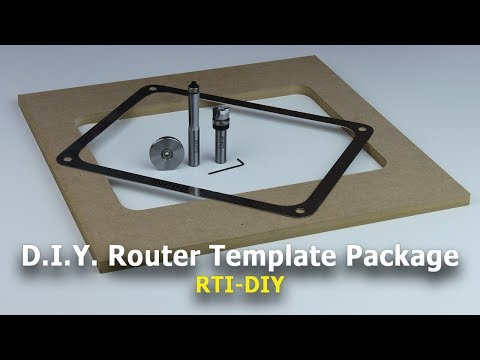 Create Perfect-Fitting Openings for Router Table Insert Plates